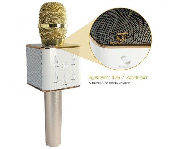 Q7 Pro Wireless Handheld Bluetooth Karaoke Microphone Speaker  57