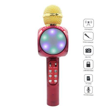 topceni.net bluetooth bezzhichen karaoke mikrofon s vgraden govoritel wster ws 1816 cherven
